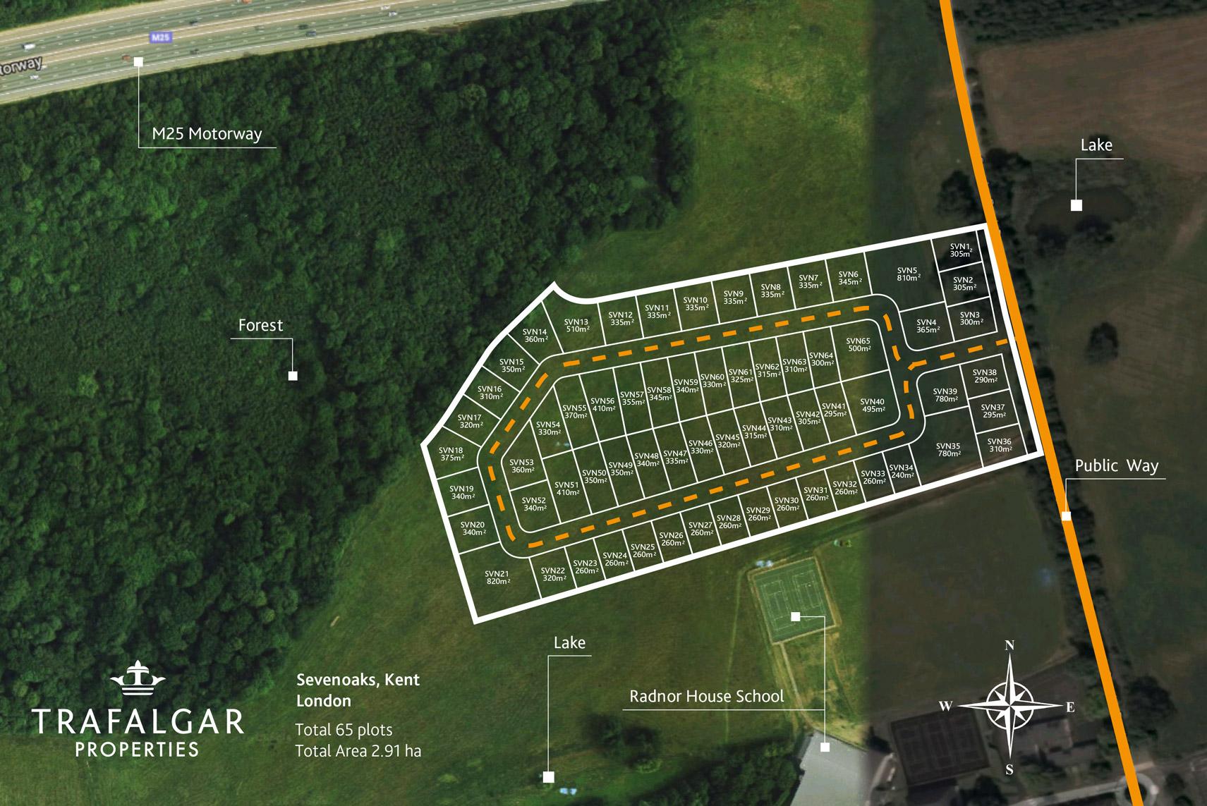 Uk Land For Sale Site Sevenoaks Real Estate Project In