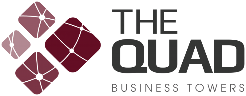 The Quad Business Towers logo