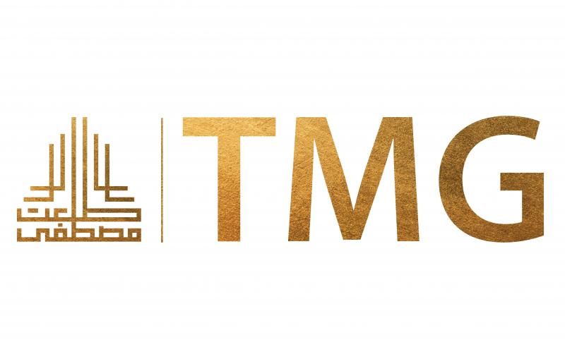 Talaat Moustafa Group (TMG) golden logo